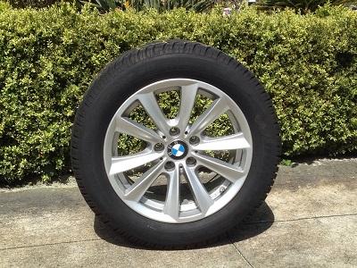 BMW fälg med däck