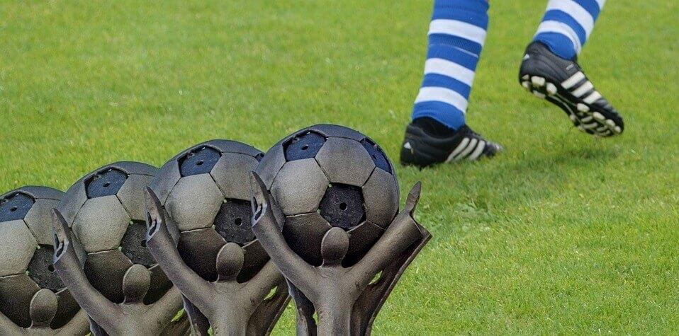 Fotbollspris för barn